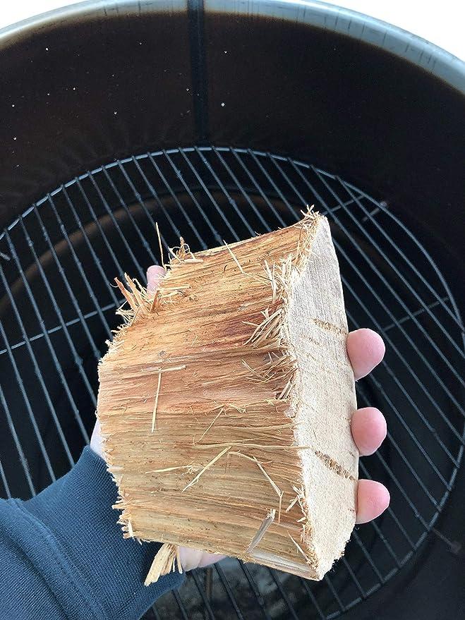 Pro Smoke - Trozos de leña orgánica para barbacoas: Amazon ...