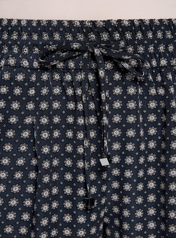 oodji Collection Mujer Pantalones Ligeros de Tejido Fluido: Amazon.es: Ropa y accesorios