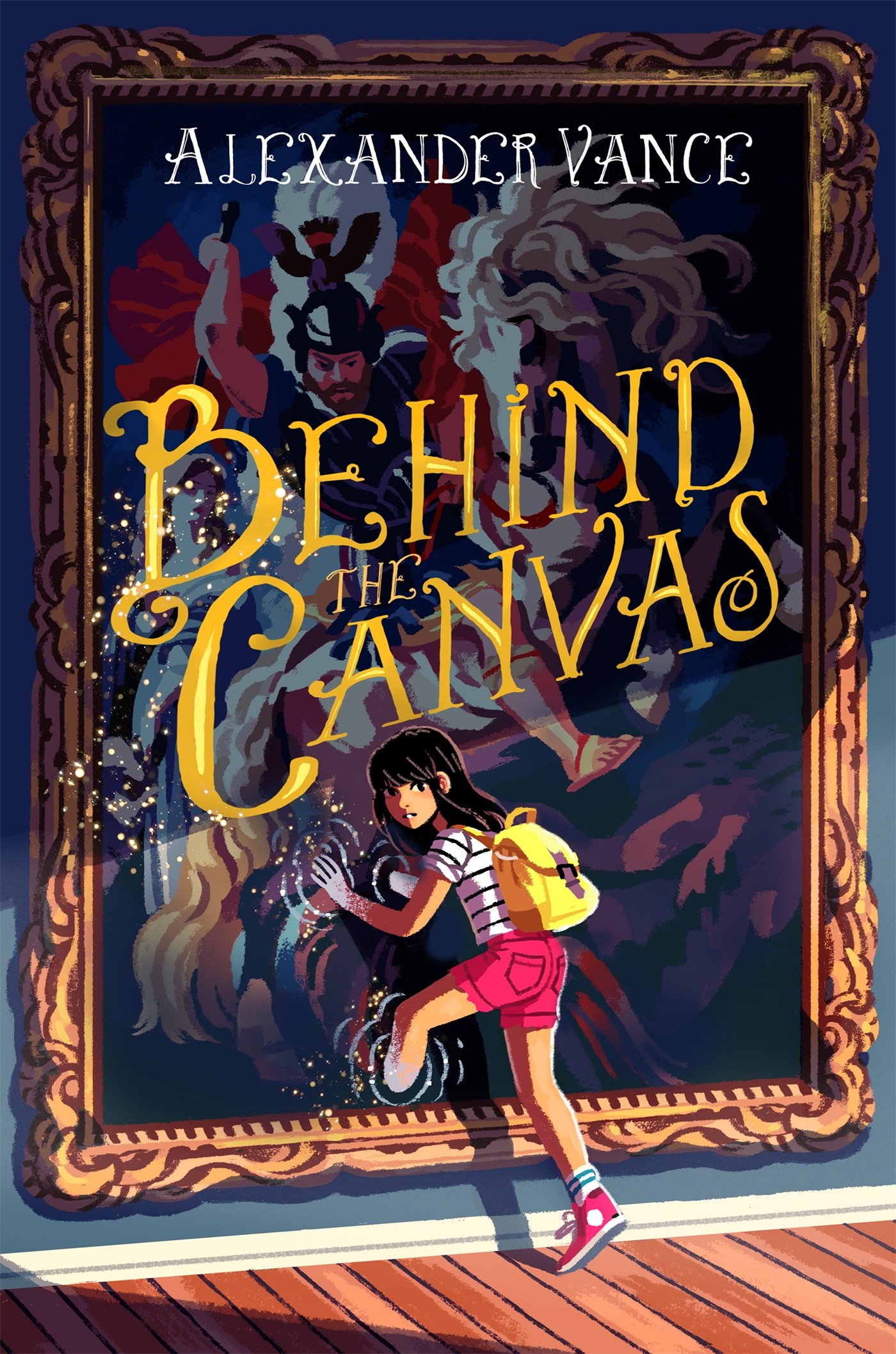 Behind The Canvas Alexander Vance 9781250103963 Amazon Books