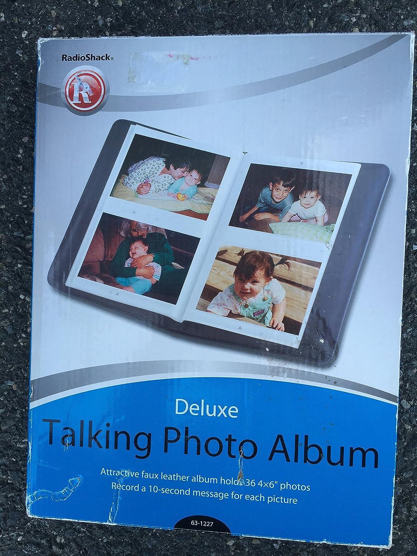 RadioShack Deluxe Talking Photo Album Holds 36 4 x 6 Photos