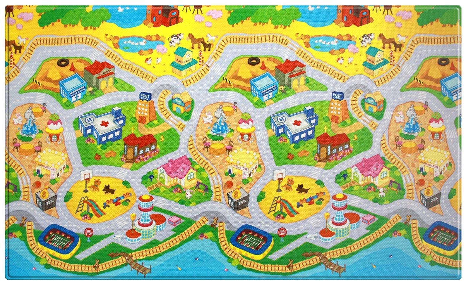 Dwinguler My Town Large Kid's Playmat by Dwinguler (Image #1)