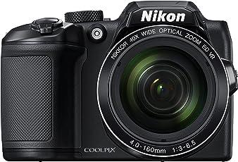 Nikon Coolpix B500 Cámara Digital con Zoom (Negra)