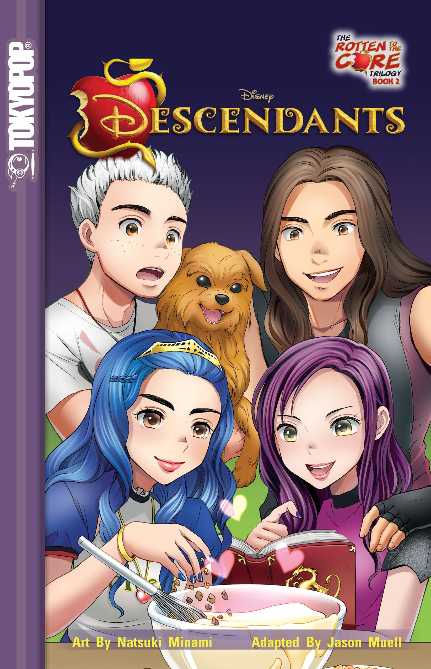 Disney Manga  Descendants   The Rotten To The Core Trilogy Book 2