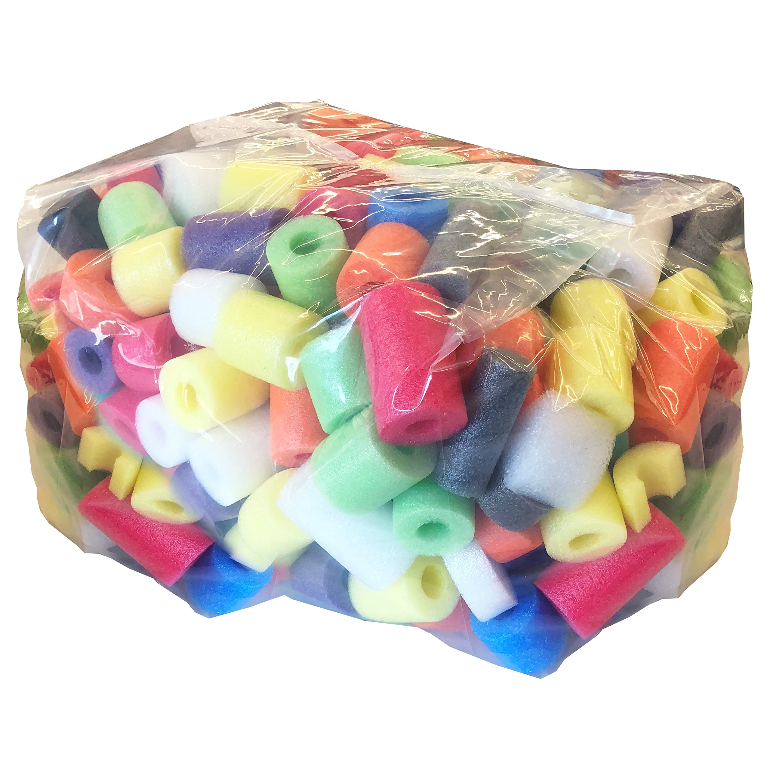 Oodles of Noodles Deluxe Foam Noodle & Foam Bits - Great for Crafts or Play - Large Bag by Oodles of Noodles