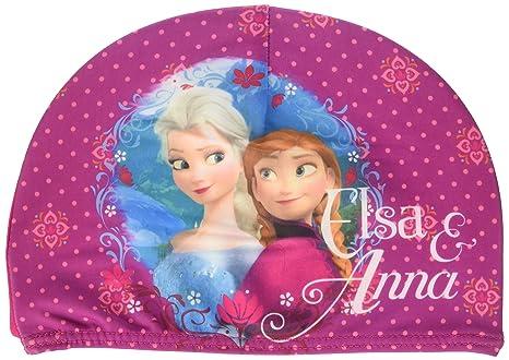 Frozen Disney Cuffia Bambina in Tessuto Elasticizzato Piscina Mare Elsa e  Anna Prodotto Originale Novità 40212cd2b511