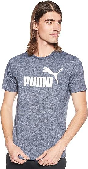 PUMA ESS+ Heather tee Camiseta, Hombre: Amazon.es: Ropa y accesorios