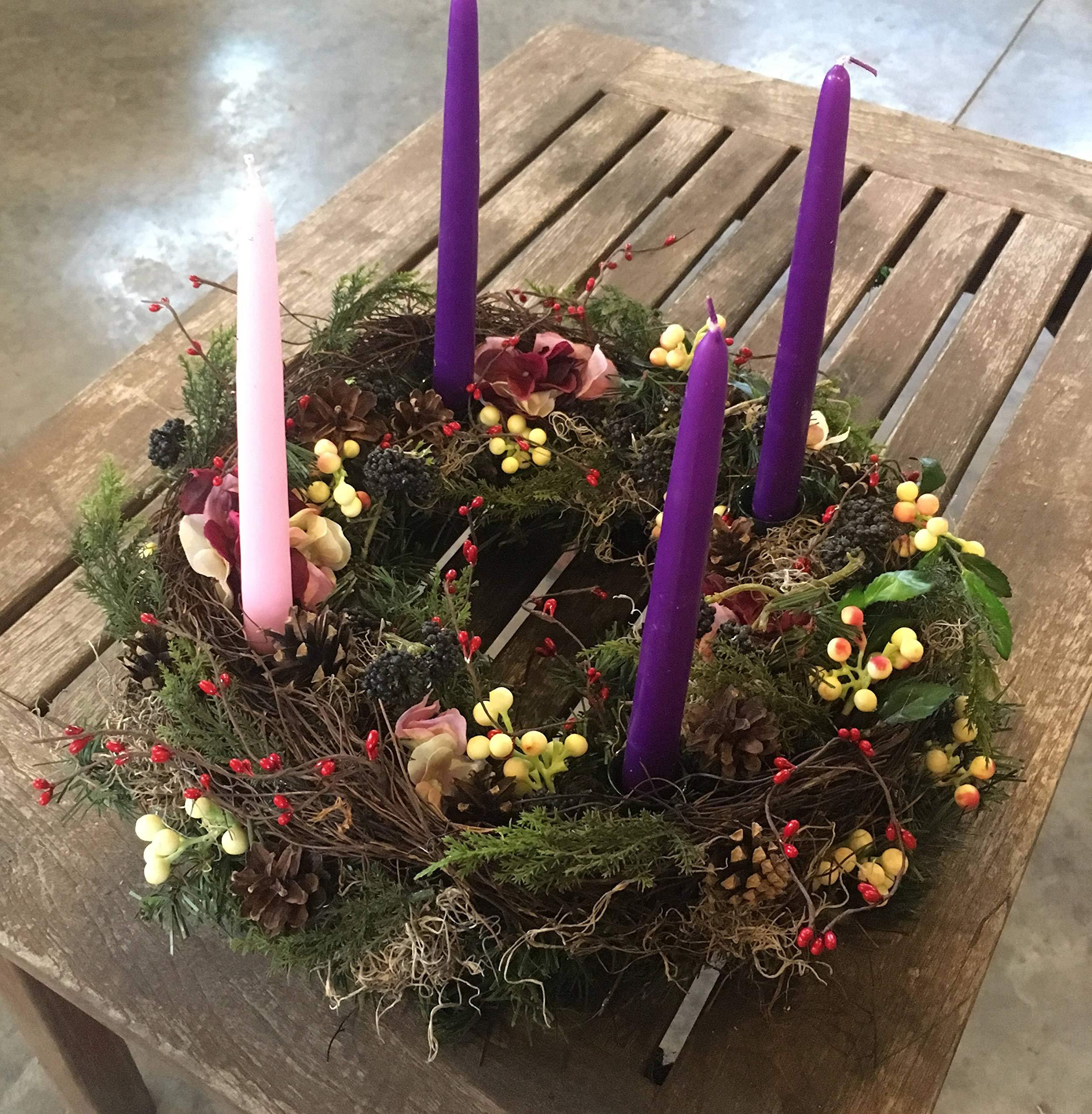 Advent-wreath-Christmas-wreath