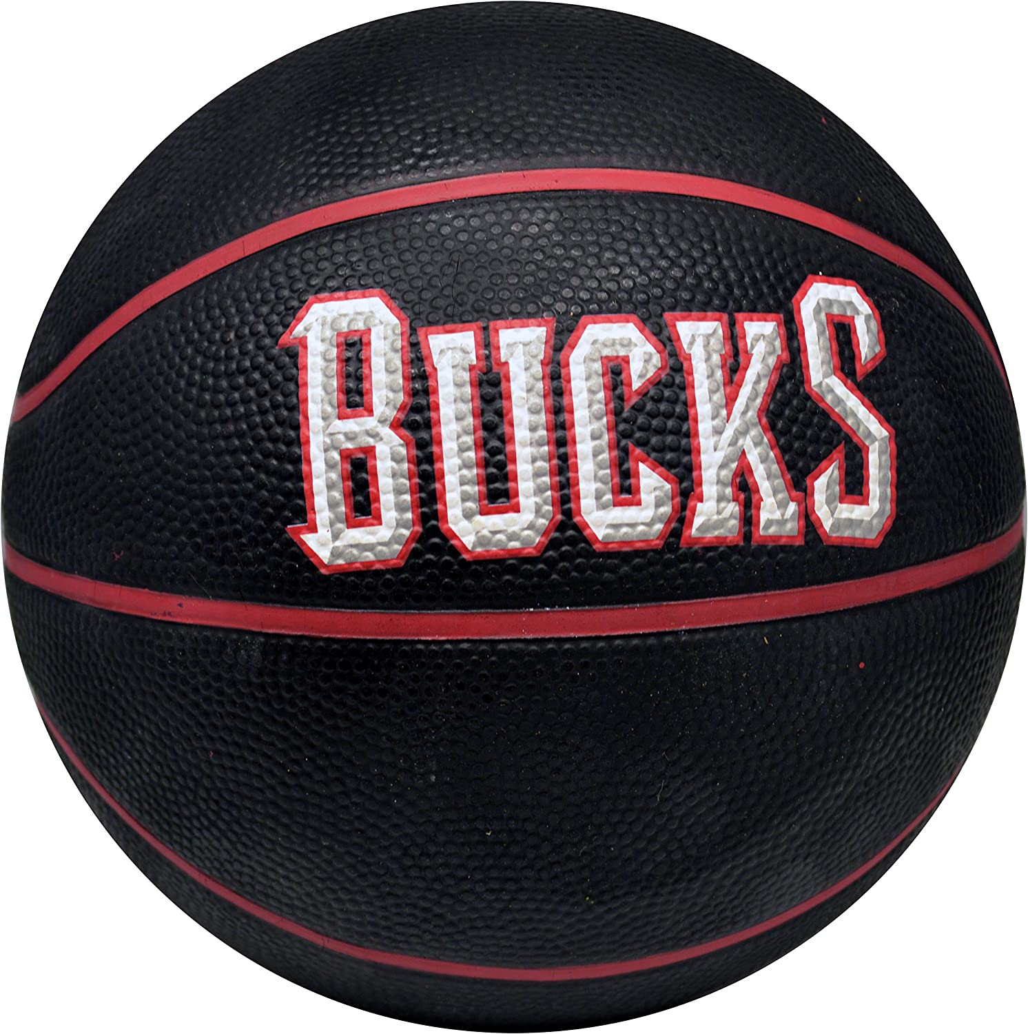 Spalding NBA Milwaukee Bucks – Noir Logo de l'équipe Mini