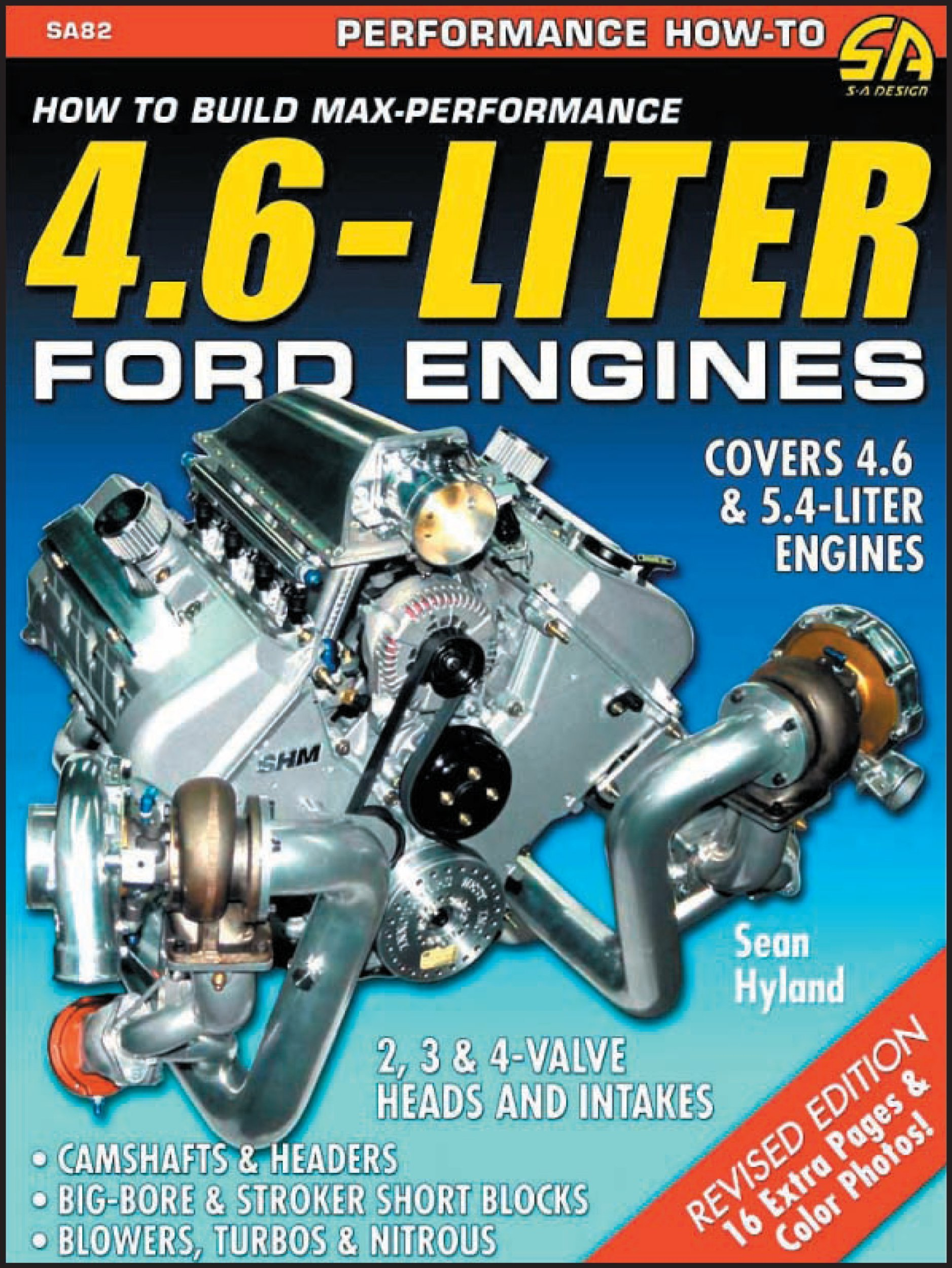 How To Build Max Performance 46 Liter Ford Engines Sean Hyland Stroker Engine Diagram 3 1 9781884089787 Books