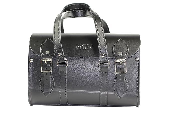 ANU® WC6 Genuine Leather Ladies Satchel Handbag in British Satchel Style -  Handmade in England 82b8f2ff7033b