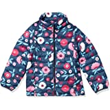 Amazon Essentials Girls' Light-Weight Water-Resistant Packable Mock Puffer Jackets