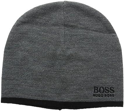 743e5e724c93 BOSS Ciny Bonnet Homme, Gris (Medium Grey 031) Taille Unique  Amazon ...
