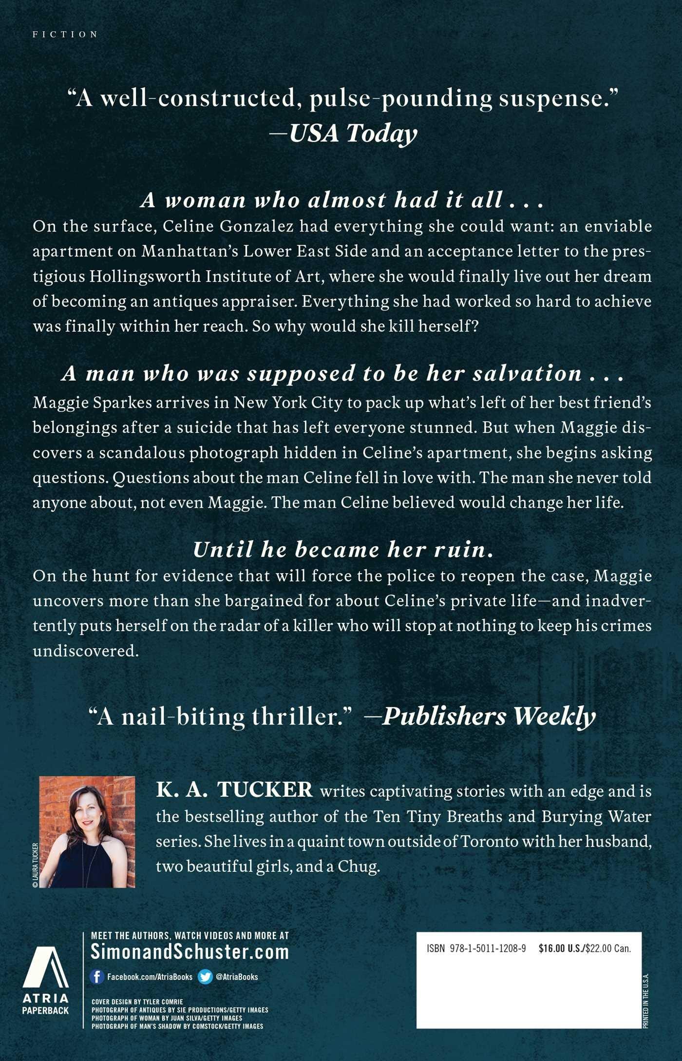 He Will Be My Ruin: A Novel: Amazon.de: K.A. Tucker ...