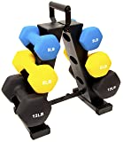 BalanceFrom 50-Pound All-Purpose Dumbbell Set