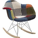 Fashion Commerce 01-FC443 Poltroncina, Multicolore, 69x62x70 cm