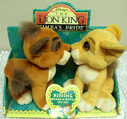 "Disney ""The Lion King Simbas Pride"" Kissing Kiara and Kovu ..."