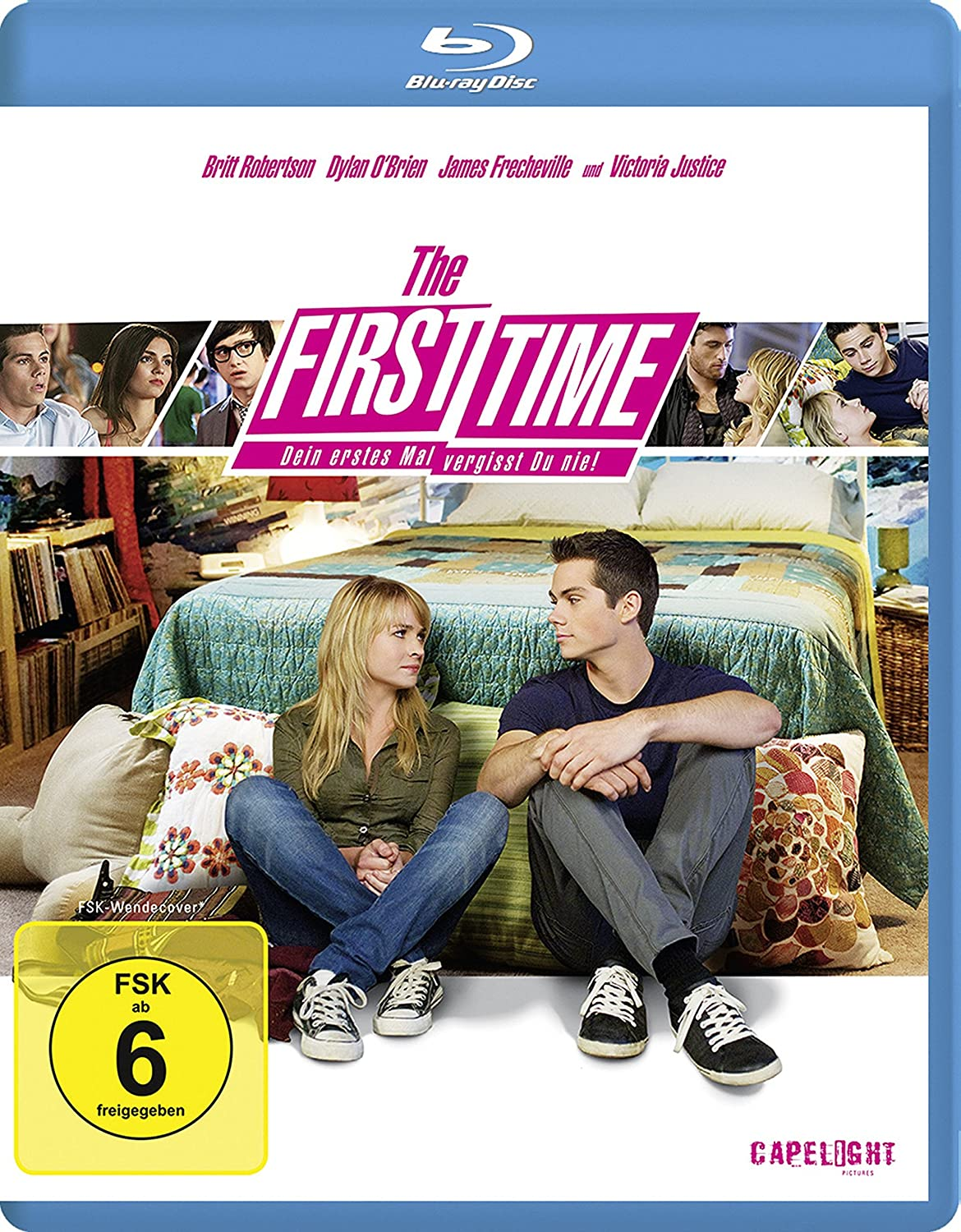 Amazon: The First Time (2012): Dylan O'brien, Britt Robertson, Victoria  Justice, Jon Kasdan: Movies & Tv