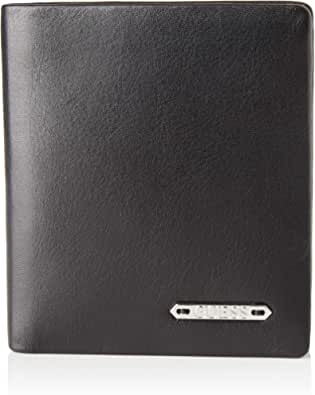 Guess Tyler Small Billfold W/CP, Leather Goods para Hombre, Negro
