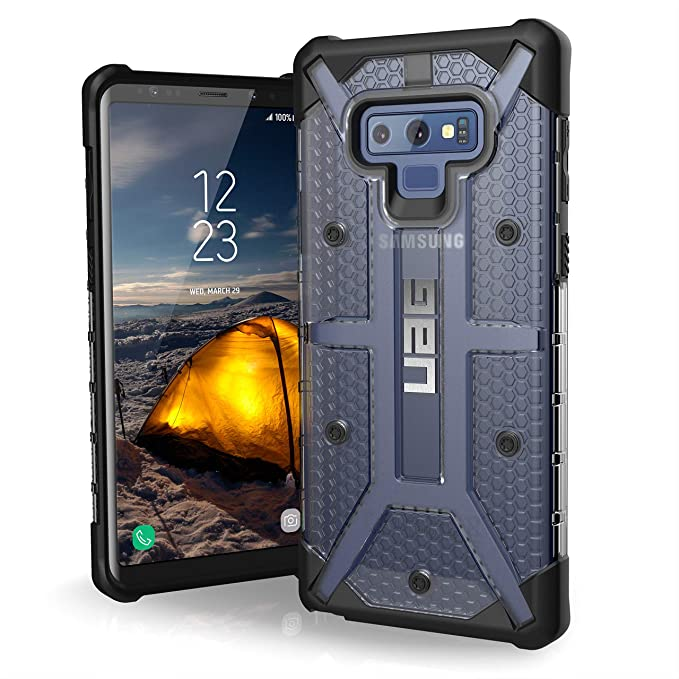 outlet store 934d7 790d0 URBAN ARMOR GEAR UAG Samsung Galaxy Note 9 Plasma Feather-Light Rugged  [Ice] Military Drop Tested Phone Case