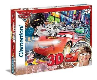Clementoni 20044 - Puzzle 3D Cars 2, 104 pezzi Clementoni Spa Italy 20044.3 B0051CRW6C