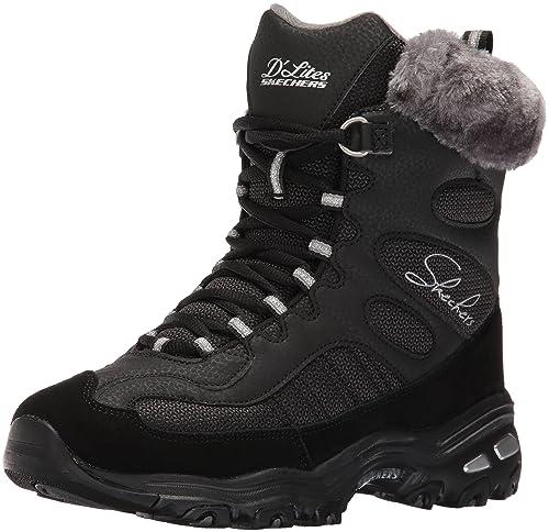 Comprar Barato 100% Auténtico Real Distancia Barato Scarpe Skechers D'Lites Chalet Women 48816 BLK - 36 EU gm48b0