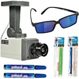 ArtCreativity Spy Gear with Surveillance Camera Toy, Spy Glasses, 2 Secret Marker Sets and 2 Disappearing Ink Tubes