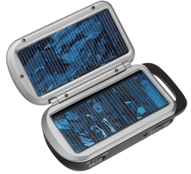 Varta Easy Solar - Cargador con USB y 2 pilas AA (2100 mAh ...