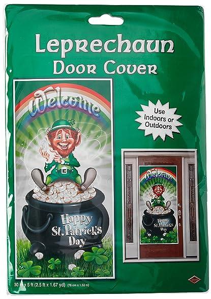 Beistle 30011 Leprechaun Door Cover 30-Inch by 5-Feet & Amazon.com: Beistle 30011 Leprechaun Door Cover 30-Inch by 5-Feet ... pezcame.com