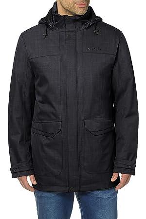 Vaude women's yale 3in1 jacket iv steel grey