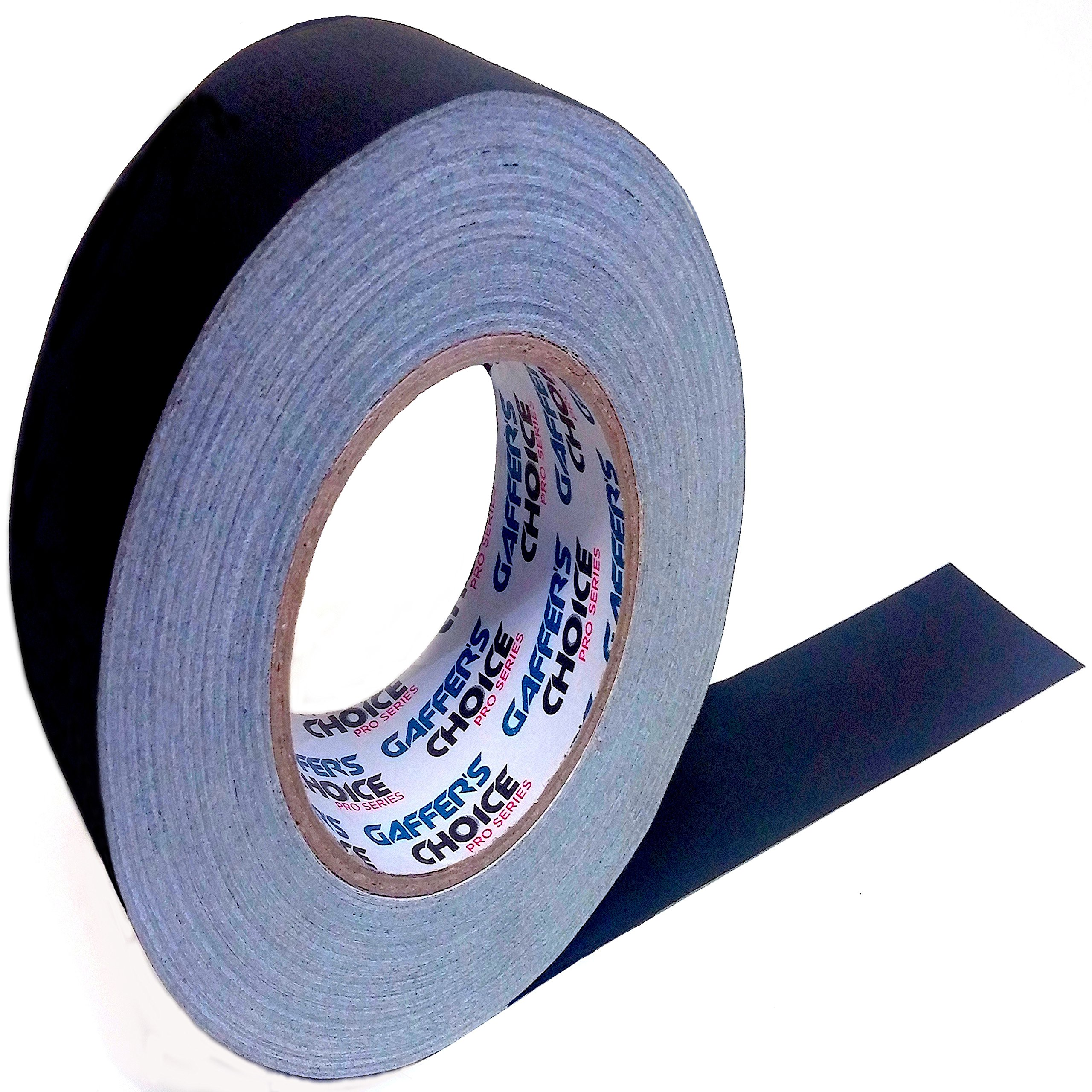 Gaffer Tape Gaffer's Choice - 2in. x 60yd - Black - Adhesive Is Safer Than Duct Tape - Waterproof & Non-Reflective Multipurpose Gaffer Tape