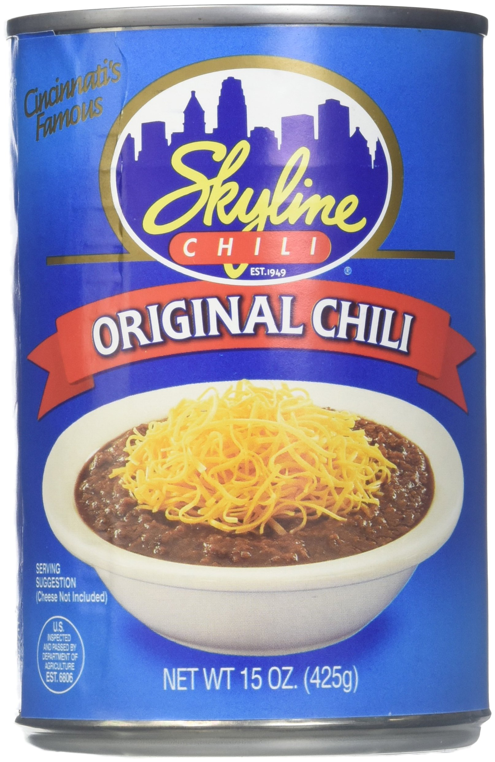 Skyline Chili 4 Cans/15oz
