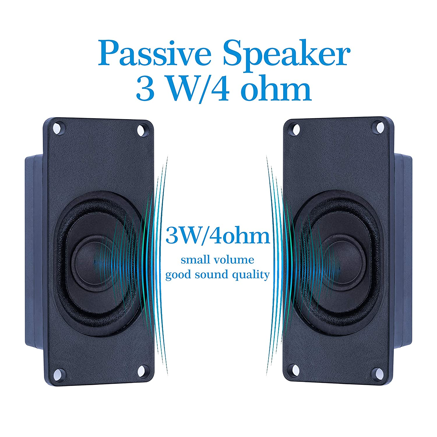 CQRobot Speaker 3 Watt 4 Ohm for Arduino It is Ideal for a Variety of Small Electronic Projects. JST-PH2.0 Interface