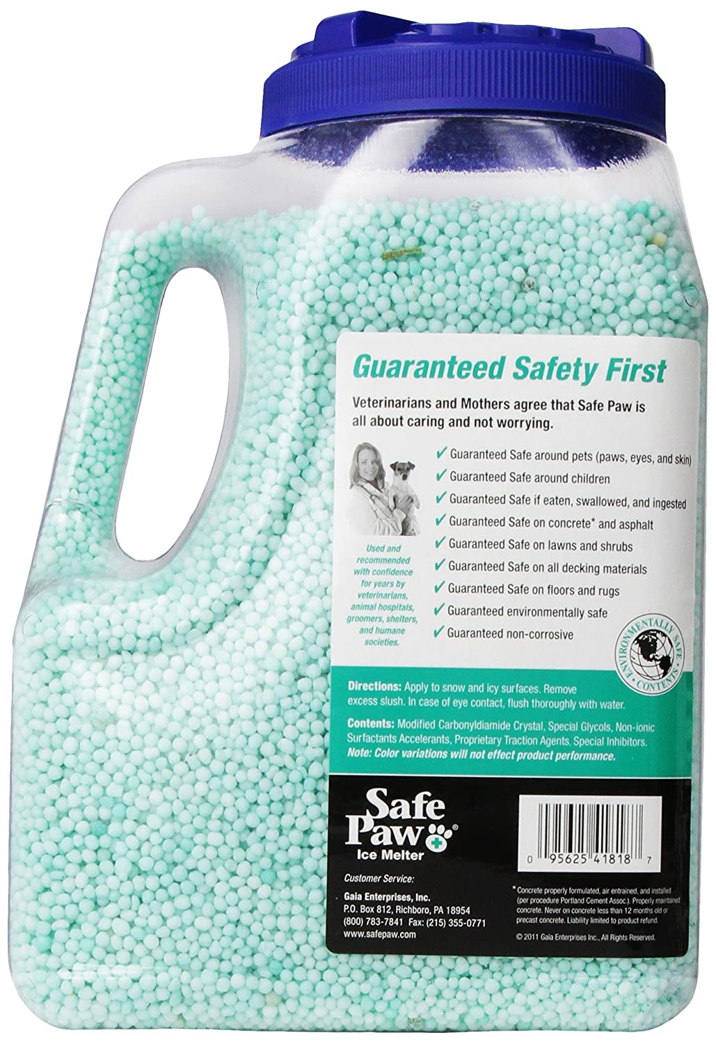 Amazoncom Safe Paw NonToxic Ice Melter Pet Safe 8 lbs 3 oz