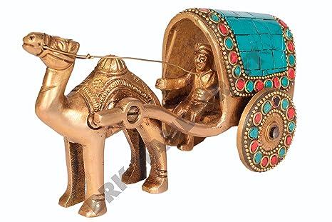 Amazon.com: cifras de latón coleccionable Camello carro ...