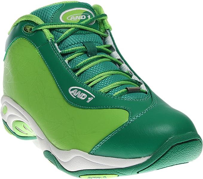 AND ONE SCARPE - Zapatillas de Baloncesto para Hombre Verde 10 ...