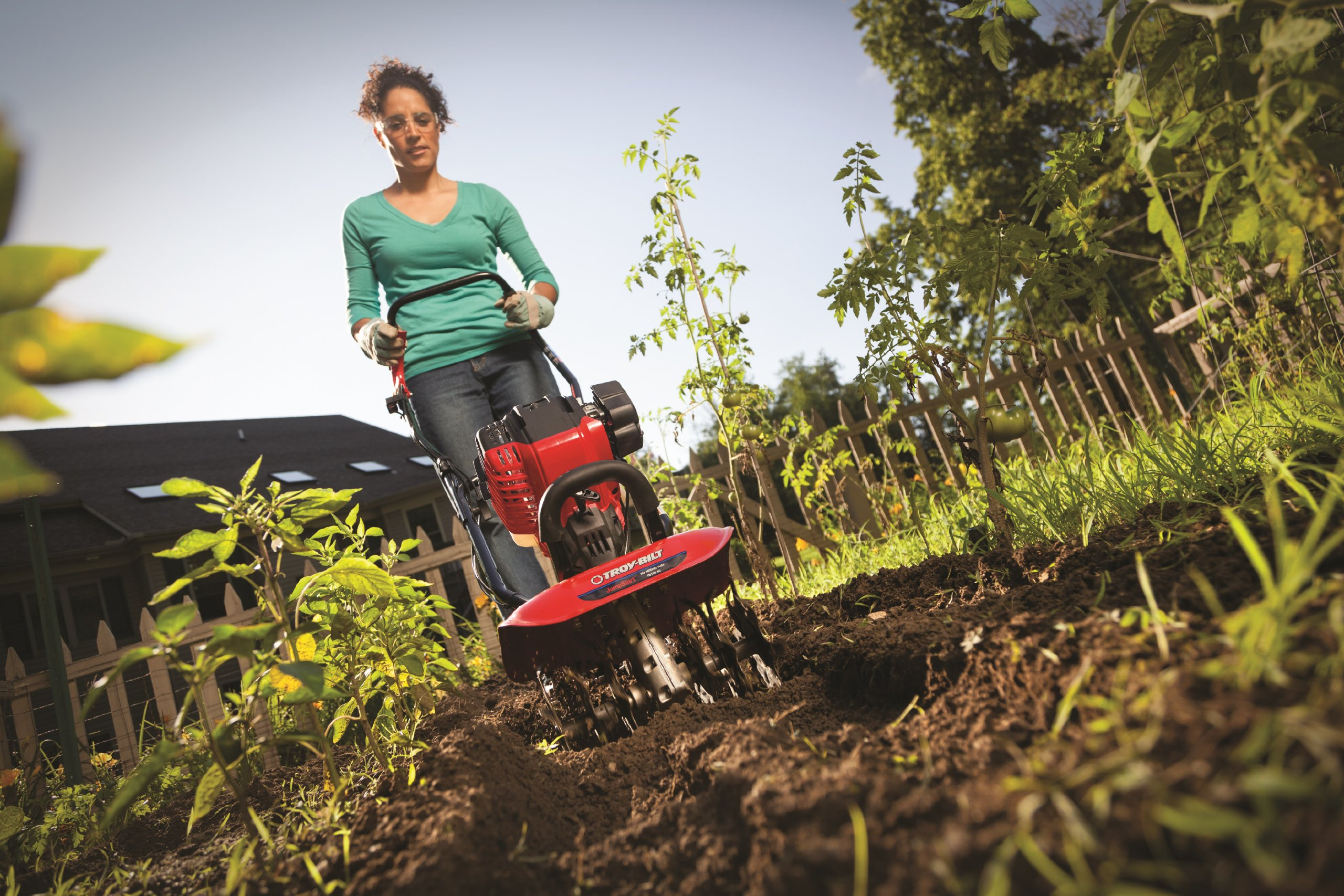 Troy-Bilt TB146 EC 29cc 4-Cycle Cultivator with JumpStart Technology by Troy-Bilt (Image #3)