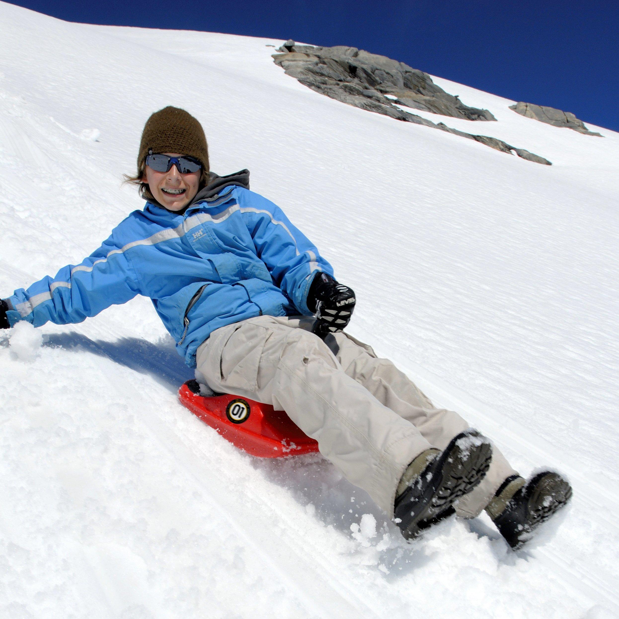 Zipfy Freestyle Mini Luge Snow Sled 250 Lbs.