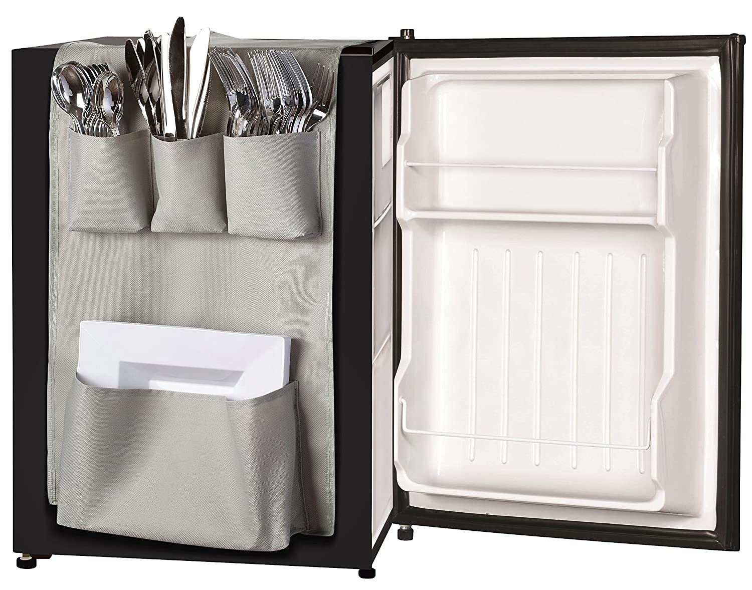 Classic Design - Over the Door Pantry Closet Organizer, Dorm and office Over the Fridge Caddy Organizer, Storage and Paper Goods Organizer