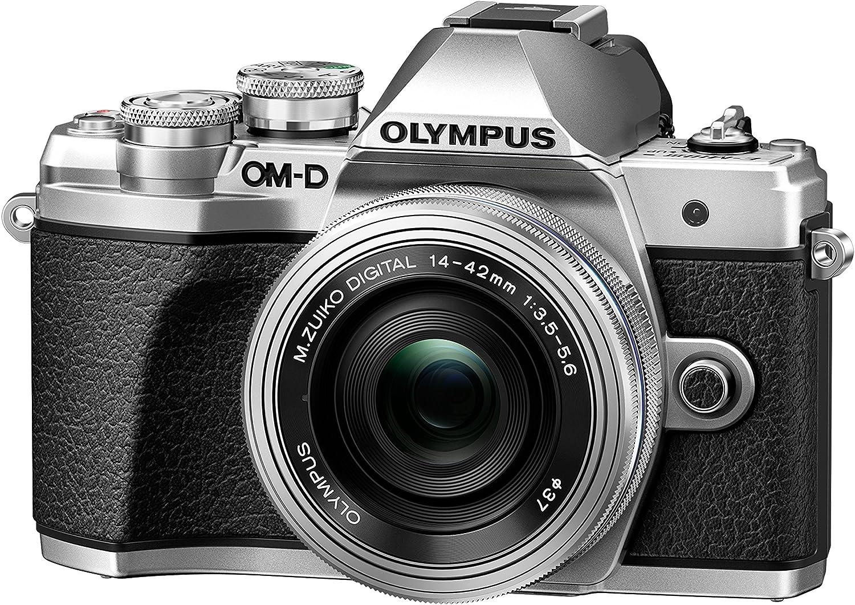 Olympus OM-D E-M10 Mark III, Cámara, Plata, Tamaño Único: Amazon ...