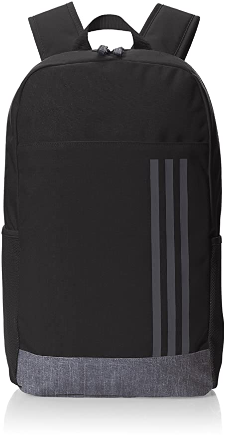 delicate colors excellent quality details for adidas Classic M 3-Stripes Rucksack, Black/White, 46 x 28 x 16 cm