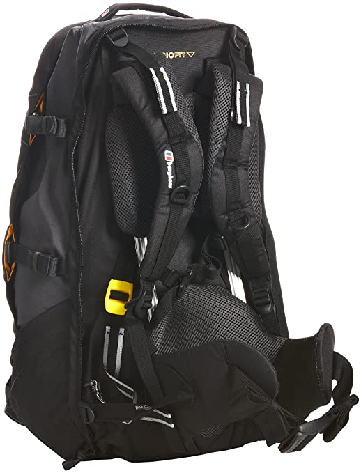 91e398df7905 Berghaus Jalan 60+10 Men s Backpack - Black Thunder