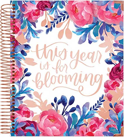bloom daily planners 2020 Hardcover Calendar Year Vision Planner (January 2020 - December 2020) - Monthly and Weekly Column View Calendar Organizer - ...