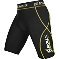 Skills Compression Shorts for Men - Increases Power and Reduces Muscle Fatigue - Sports Performance Premium Quality…