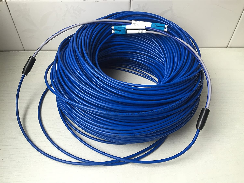 Red de fibra /óptica Cable blindado para Blackmagic Sony Ikegami 200/M LC-LC azul 3/mm