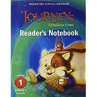 Houghton Mifflin Harcourt Journeys: Common Core Reader's Notebook Consumable Collection Grade 01