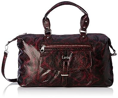 df7c56bd6d LPB Woman W16b0103, Sac porté main - Rouge (Bordeaux), Taille Unique ...