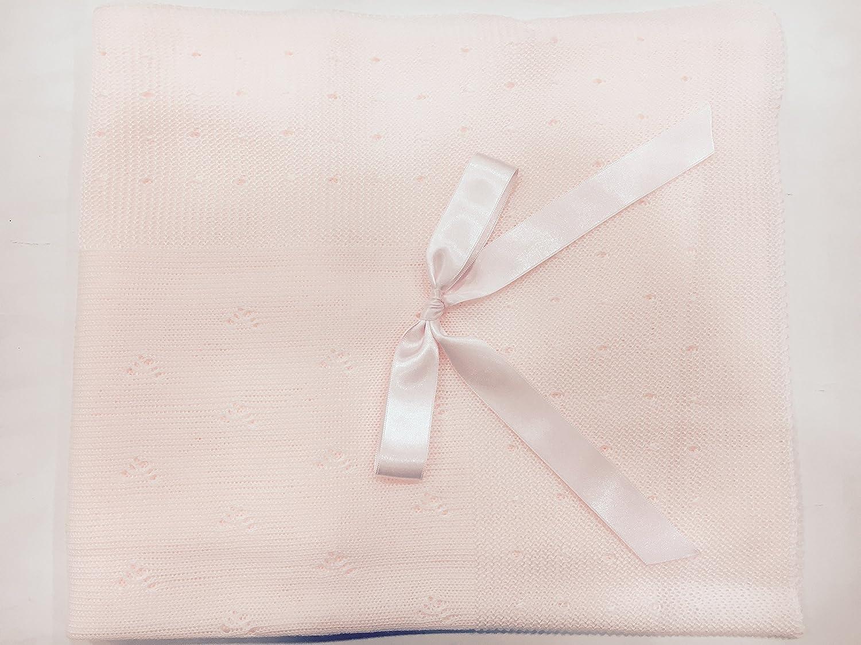 Toquilla perle color rosa: Amazon.es: Bebé