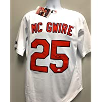 $299 » Mark McGwire St Louis Cardinals Signed Autograph Majestic Jersey White JSA Witnessed Certified