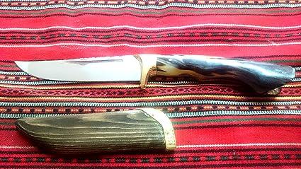 Amazon.com: Hecho a mano, tradicional, Cretan cuchillo, hoja ...