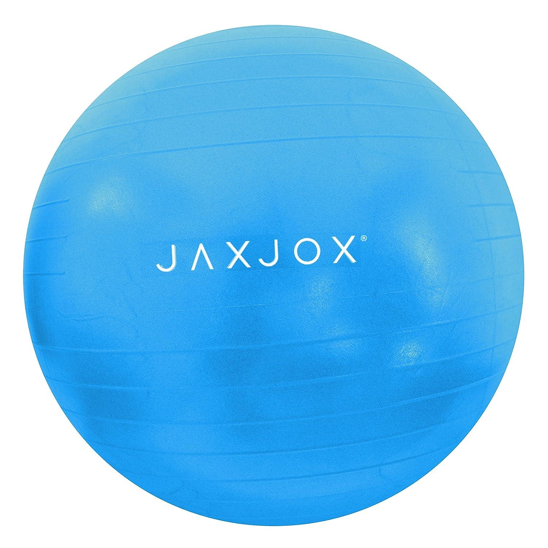 JAXJOX Unisexe /équilibre stabilit/é Gym//Swiss Ball 65/cm Bleu